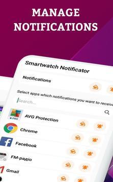 Smartwatch Notifier:sync le téléphone et la montre capture d'écran 11