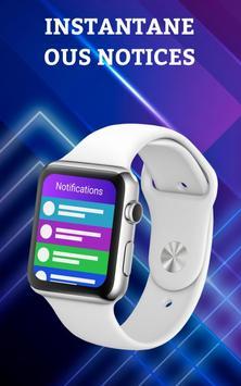 Smartwatch Notifier:sync le téléphone et la montre capture d'écran 16