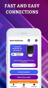 Smartwatch Notifier:sync le téléphone et la montre capture d'écran 1
