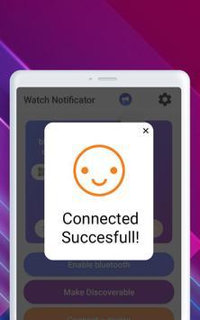 Smartwatch Notifier:sync le téléphone et la montre capture d'écran 23