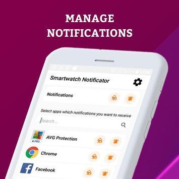 Smartwatch Notifier:sync le téléphone et la montre capture d'écran 27