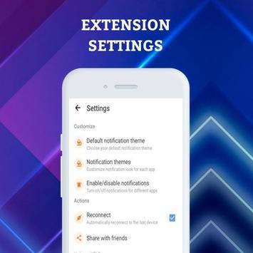 Smartwatch Notifier:sync le téléphone et la montre capture d'écran 29