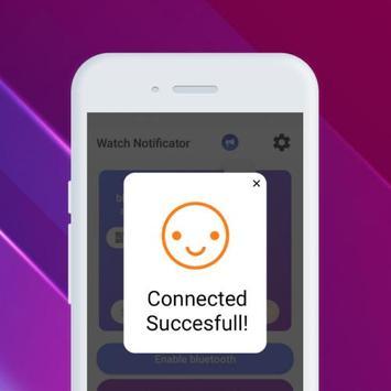 Smartwatch Notifier:sync le téléphone et la montre capture d'écran 31