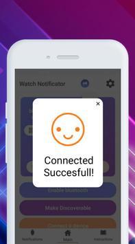 Smartwatch Notifier:sync le téléphone et la montre capture d'écran 7