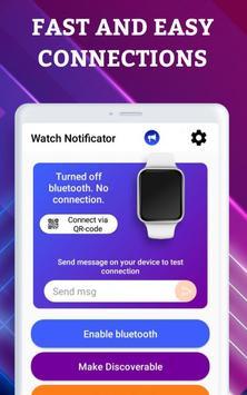 Smartwatch Notifier:sync le téléphone et la montre capture d'écran 9