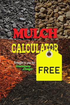 Mulching Calculator FREE poster