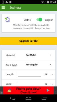 Mulching Calculator FREE screenshot 1