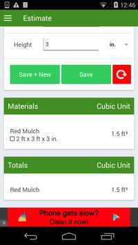 Mulching Calculator FREE screenshot 2