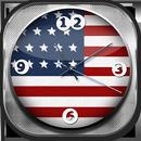 USA Analog Clock Widget APK