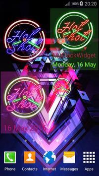 Green Neon Clock screenshot 13