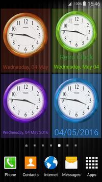 Retro Clock Widget screenshot 11