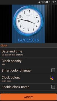 Retro Clock Widget screenshot 23