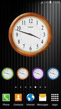 Retro Clock Widget screenshot 2