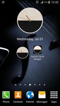 Stylish Clock Widget screenshot 17