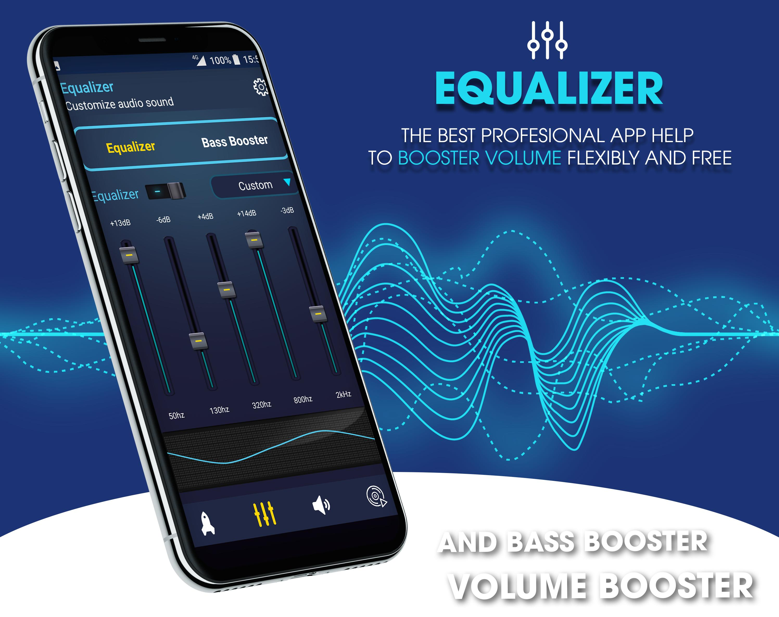 Super Volume Booster Bass Booter For Android 2019 For Android Apk Download