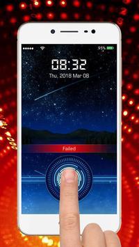 Fingerprint lock screen screenshot 14