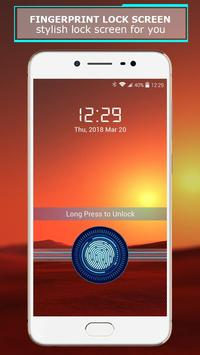 Fingerprint lock screen screenshot 17
