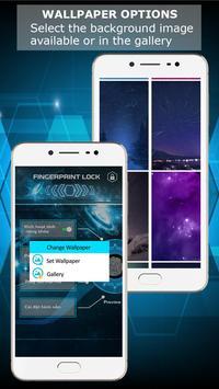Fingerprint lock screen screenshot 23