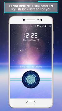 Fingerprint lock screen screenshot 5