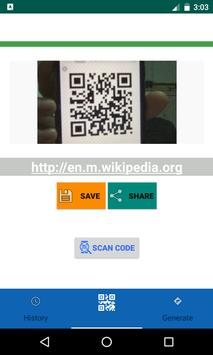 Scan Qr & Bar Code screenshot 1