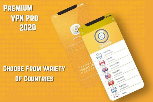 VPN Pro 2020 screenshot 1