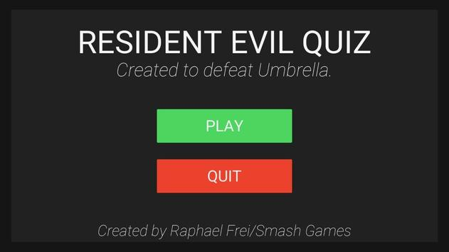 Quiz for Resident Evil screenshot 2