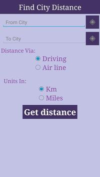 City Distance poster