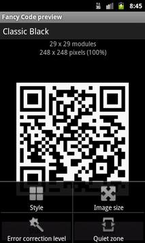 Fancy QR Code screenshot 1