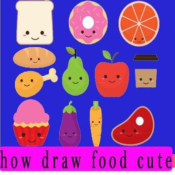 how to draw cute foods screenshot 8