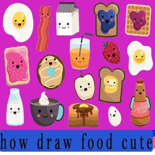 Cara Menggambar Makanan Lucu For Android Apk Download