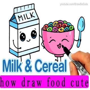 how to draw cute foods screenshot 2
