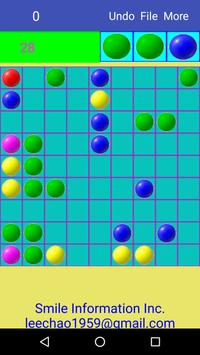 color balls - free game makes you smarter. poster