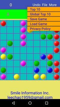 color balls - free game makes you smarter. screenshot 1