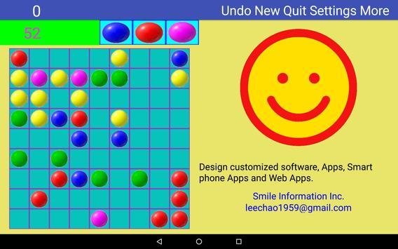 color balls - free game makes you smarter. screenshot 8