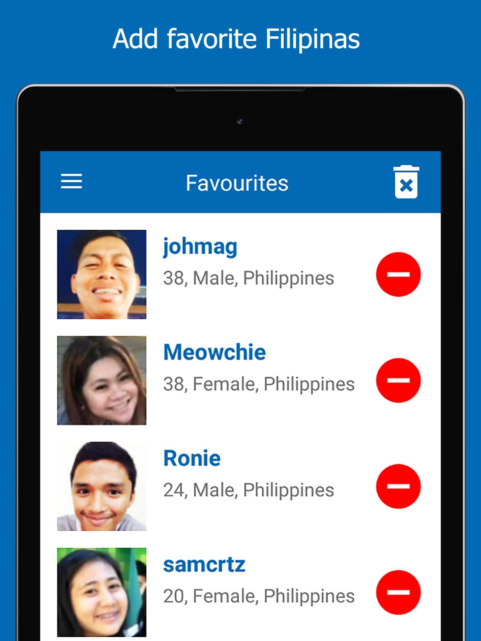Chat dating Filippiinit