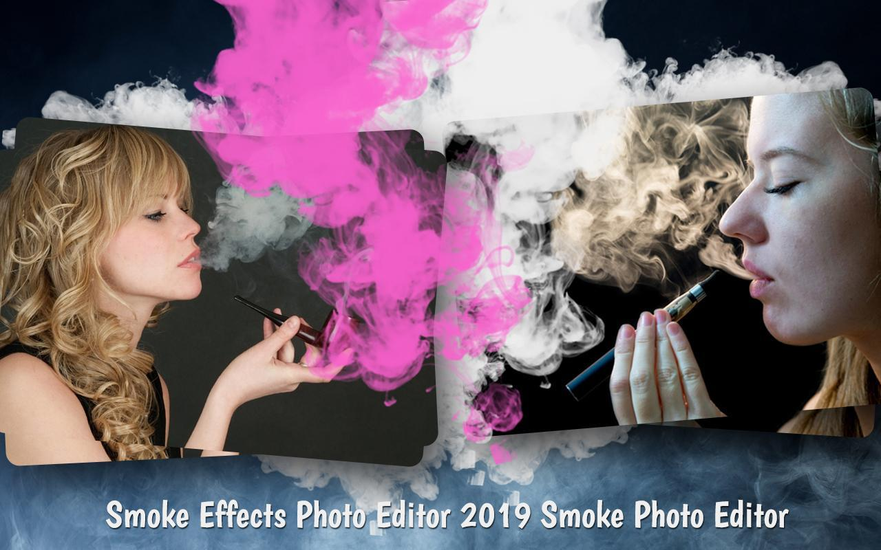 Фото с эффектом дымки