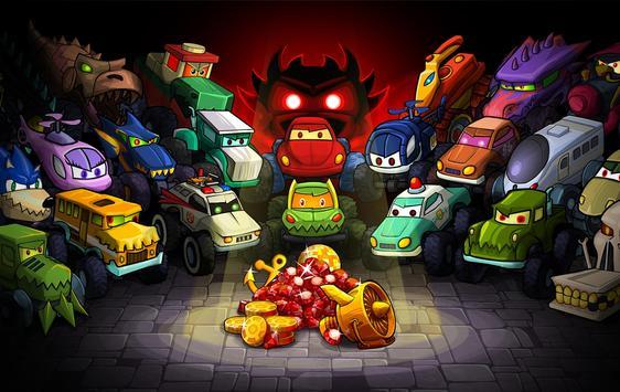 Car Eats Car Multiplayer capture d'écran 23