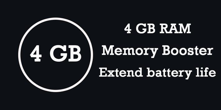 4 GB RAM Memory Booster screenshot 3