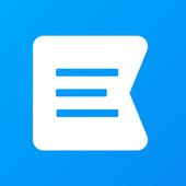 Block text messages, Spam blocker, Text blocker icon