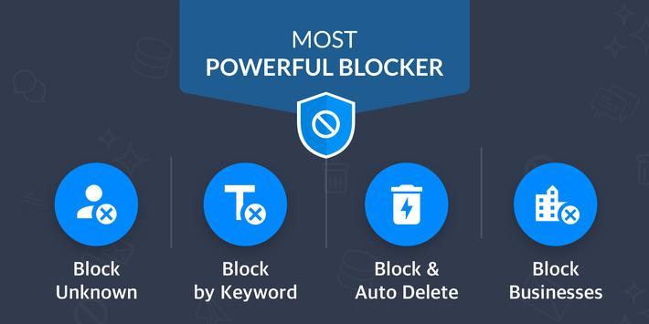 SMS Blocker, Block Text, Spam Blocker for android تصوير الشاشة 1