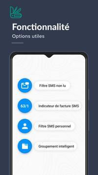 Bloqueur de SMS, Bloqueur de messages de spam capture d'écran 4