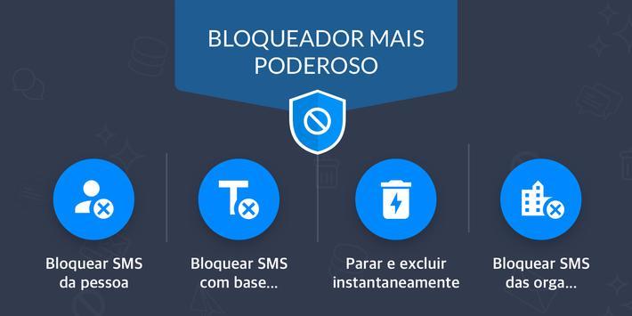 Bloqueador de mensagens, SMS Blocker- Key Messages imagem de tela 1