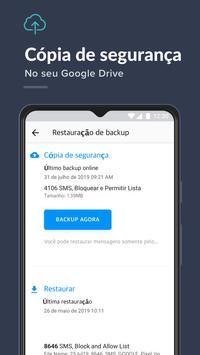 Bloqueador de mensagens, SMS Blocker- Key Messages imagem de tela 5