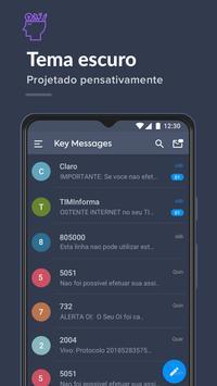 Bloqueador de mensagens, SMS Blocker- Key Messages imagem de tela 7
