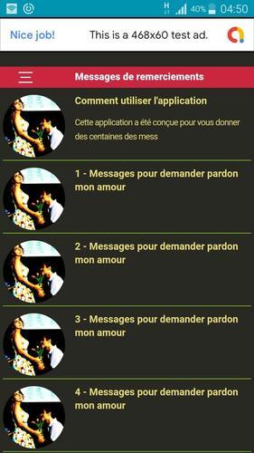 Sms Dexcuses à Son Amour Demander Pardon For Android