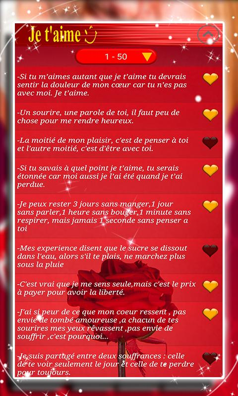 Sms Amour Pour Elle For Android Apk Download