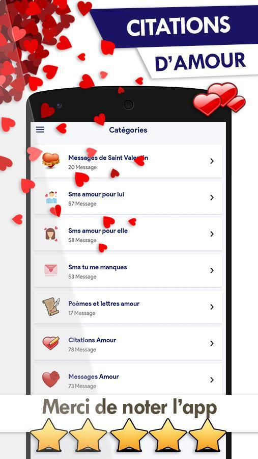Meilleurs Sms Et Messages Amour For Android Apk Download
