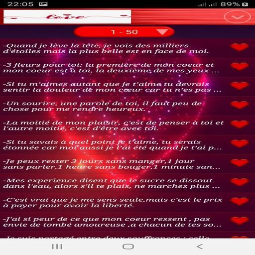Les Plus Beaux Sms Damour 2019 For Android Apk Download