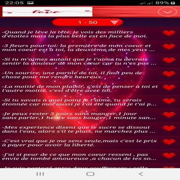 LES PLUS BEAUX SMS D'AMOUR 2019 screenshot 2