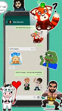 Meme Stickers for WhatsApp poster